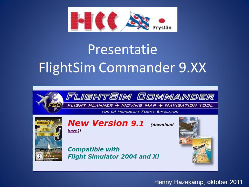 Presentatie FlightSim Commander 9.XX