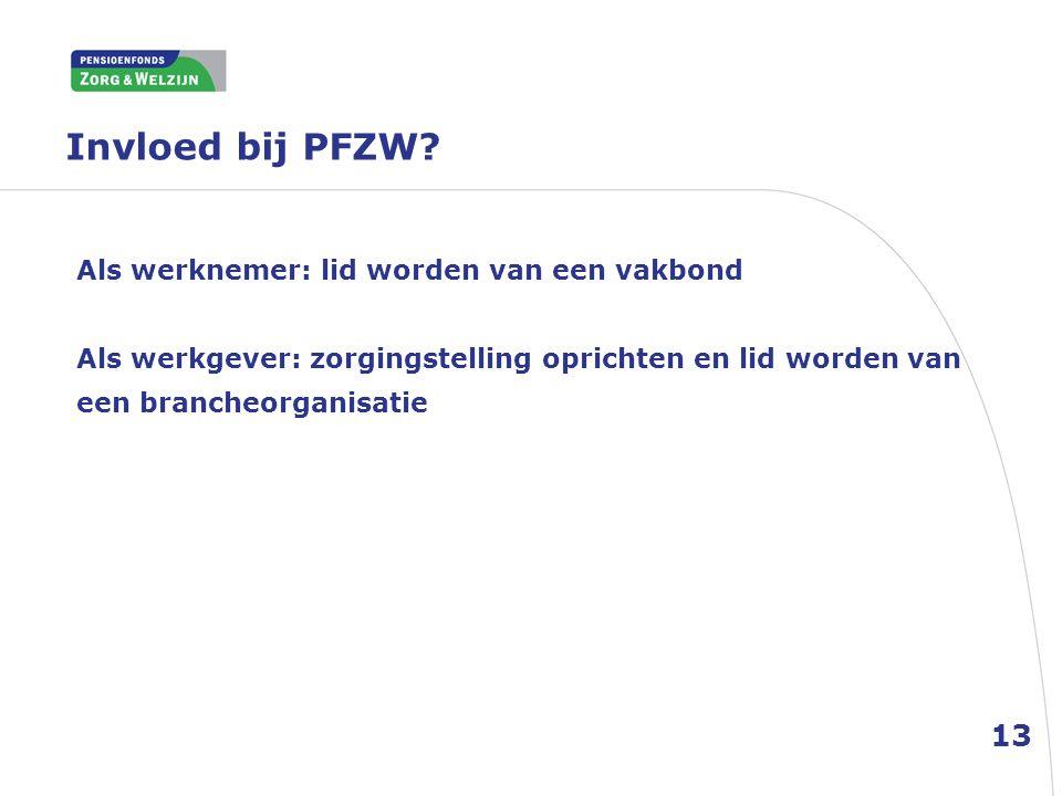 Als OR-lid dus weinig zeggenschap bij PFZW (dat geldt niet voor ondernemingspensioenfondsen, maar dat is buiten de orde van het LOMOZ).