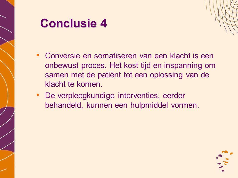 Conclusie 4