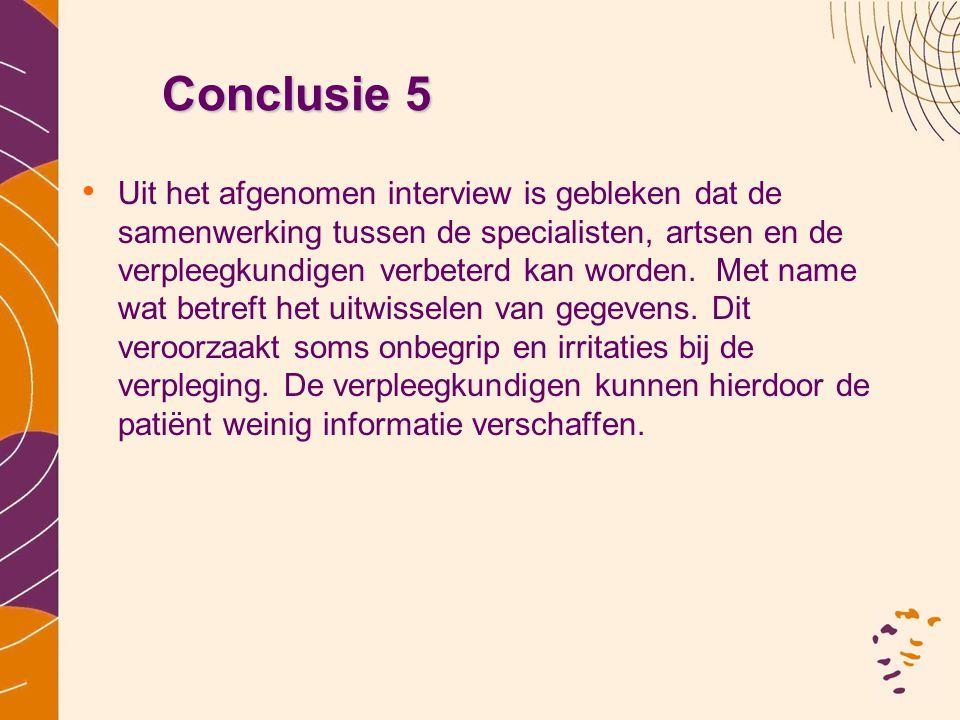 Conclusie 5