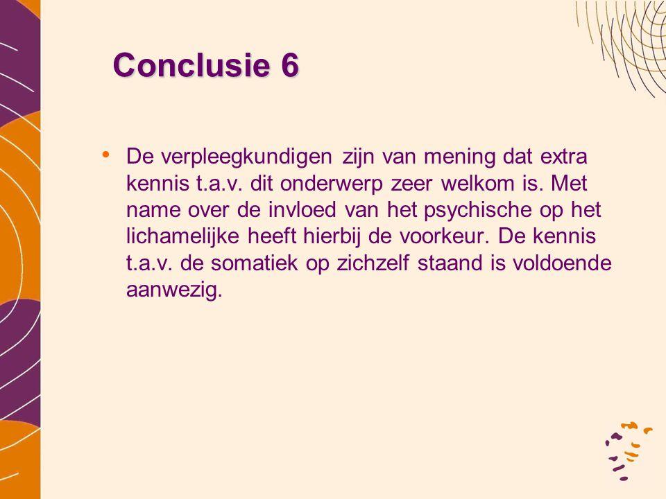 Conclusie 6