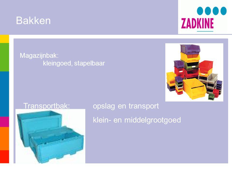 Bakken Transportbak: opslag en transport klein- en middelgrootgoed
