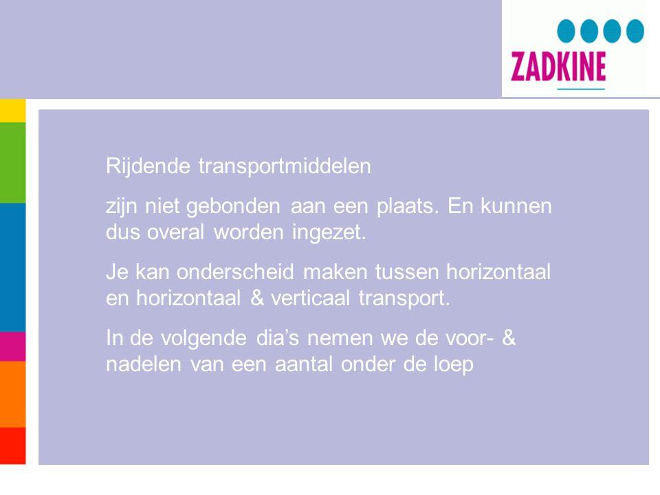 Rijdende transportmiddelen