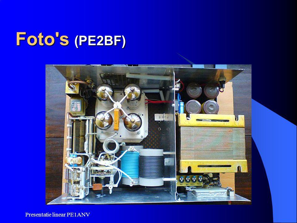 Foto s (PE2BF) Presentatie linear PE1ANV