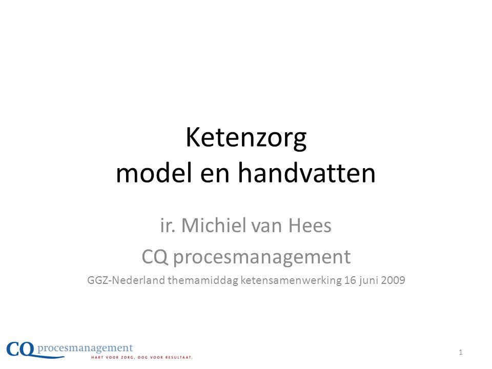 Ketenzorg model en handvatten
