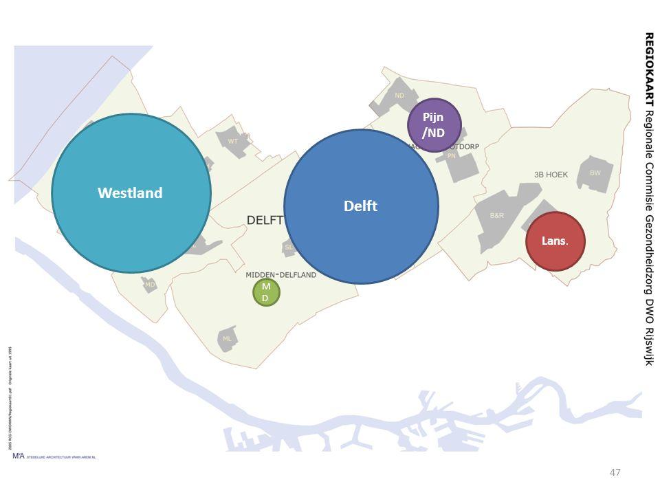 Pijn/ND Westland Delft Lans. MD