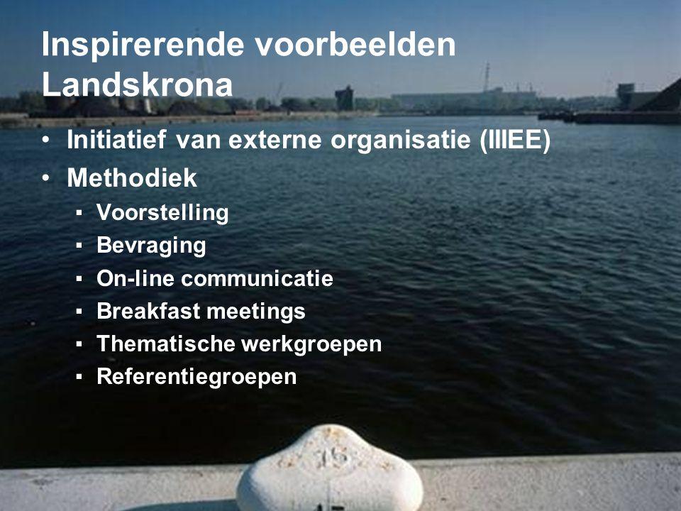 Inspirerende voorbeelden Landskrona