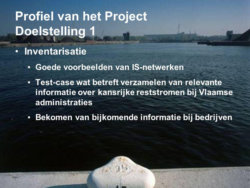 Profiel van het Project Doelstelling 1