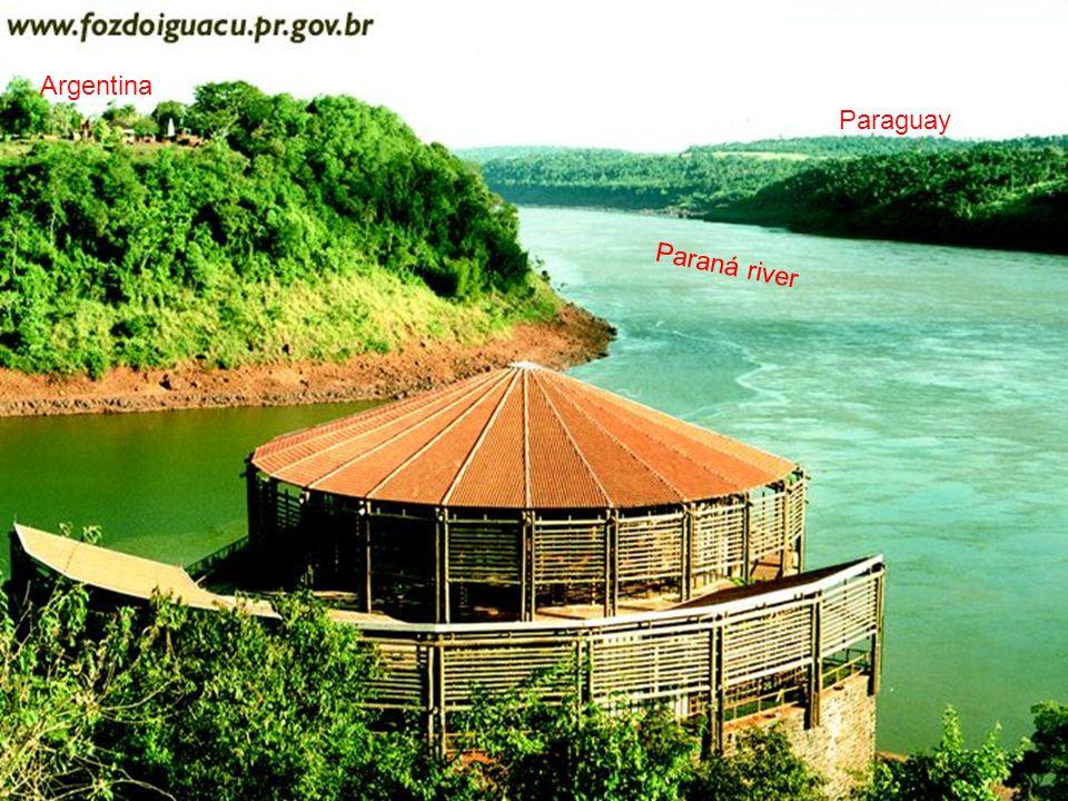 Argentina Paraguay Paraná river