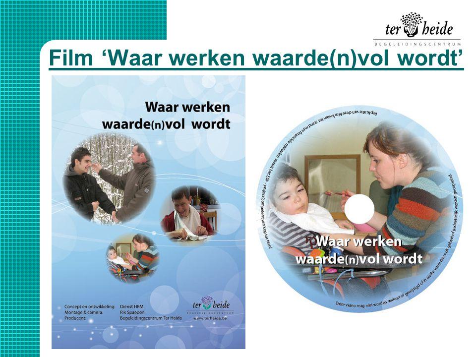 Film 'Waar werken waarde(n)vol wordt'