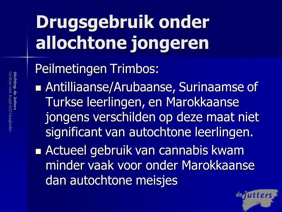 Drugsgebruik onder allochtone jongeren