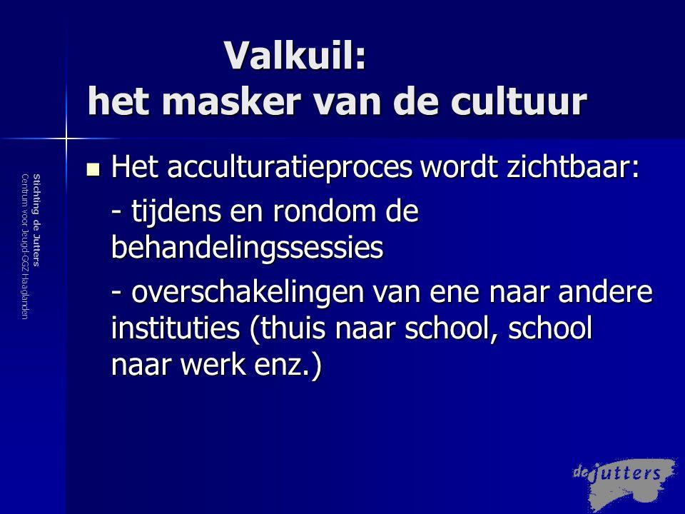 Valkuil: het masker van de cultuur