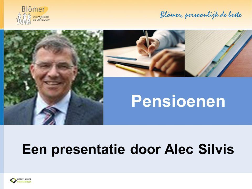 Een presentatie door Alec Silvis