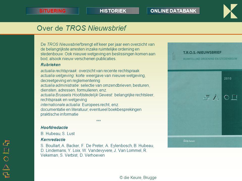 Over de TROS Nieuwsbrief