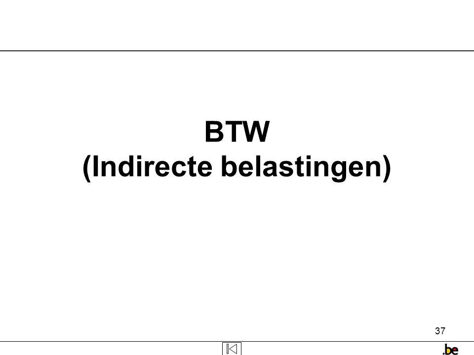 BTW (Indirecte belastingen)