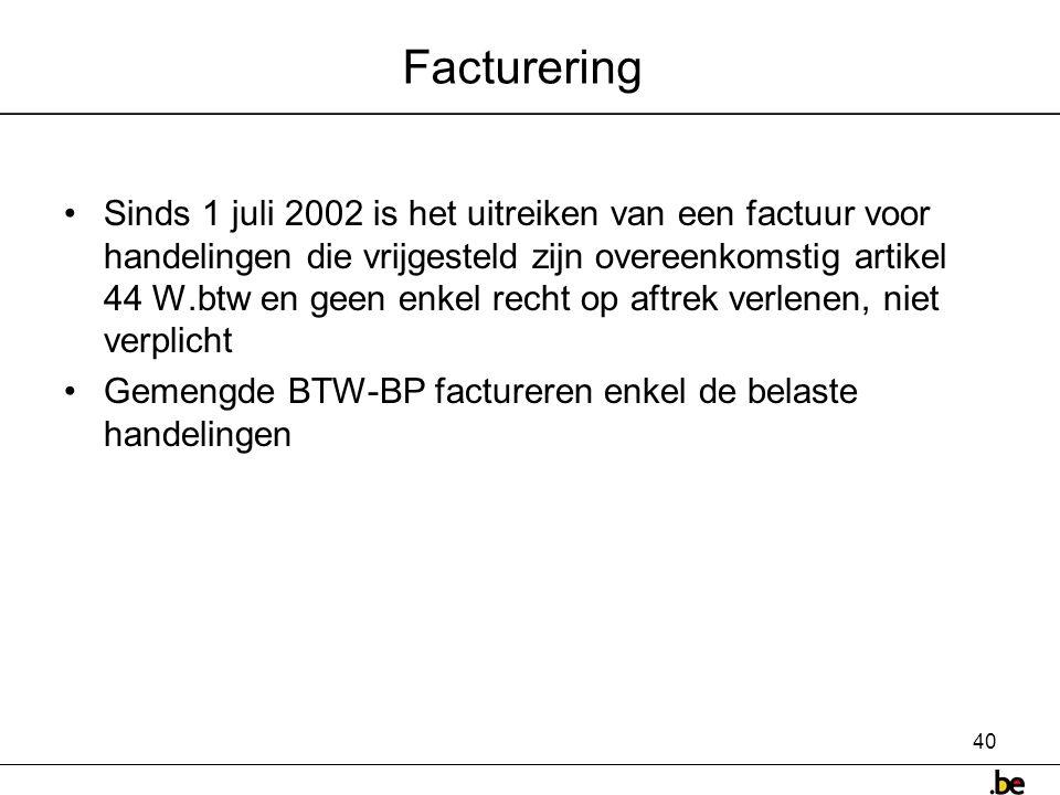 Facturering