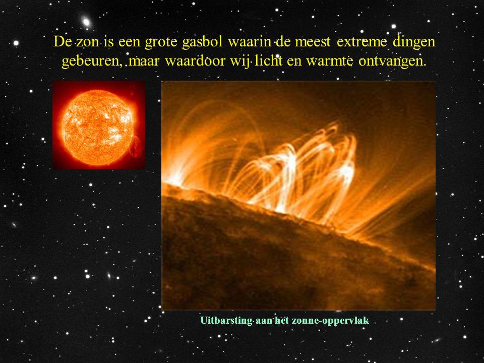 Uitbarsting aan het zonne-oppervlak