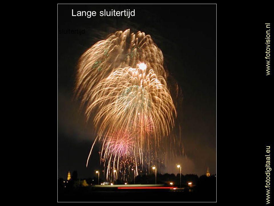 Lange sluitertijd Lange sluitertijd www.fotovision.nl
