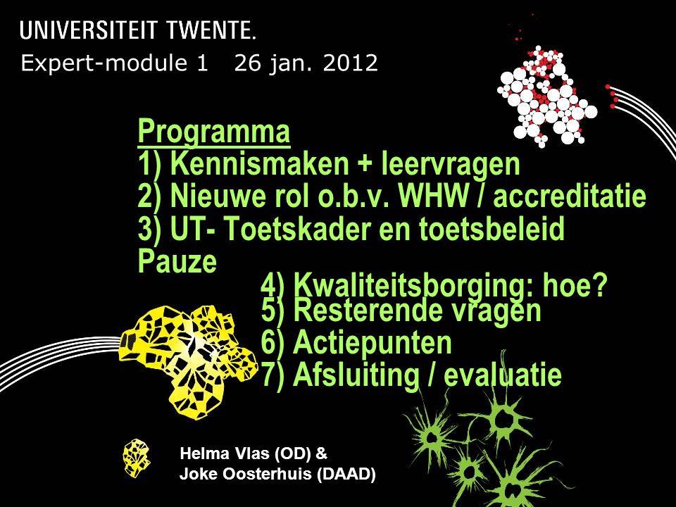 Presentatietitel: aanpassen via Beeld, Koptekst en voettekst