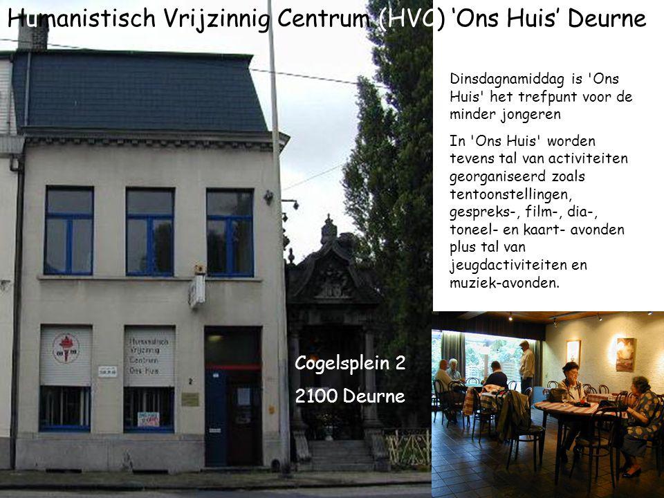 Humanistisch Vrijzinnig Centrum (HVC) 'Ons Huis' Deurne