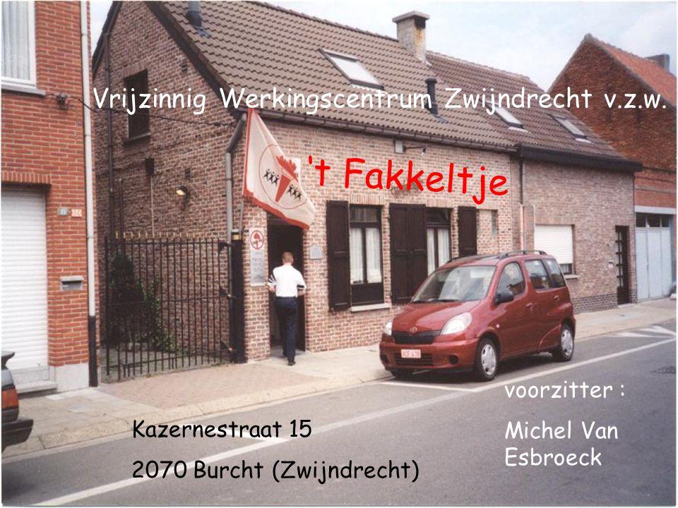 't Fakkeltje Vrijzinnig Werkingscentrum Zwijndrecht v.z.w.
