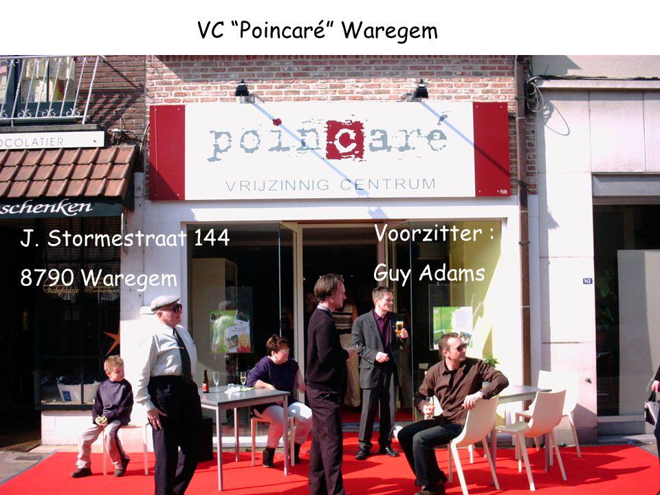 VC Poincaré Waregem Voorzitter : Guy Adams J. Stormestraat 144 8790 Waregem
