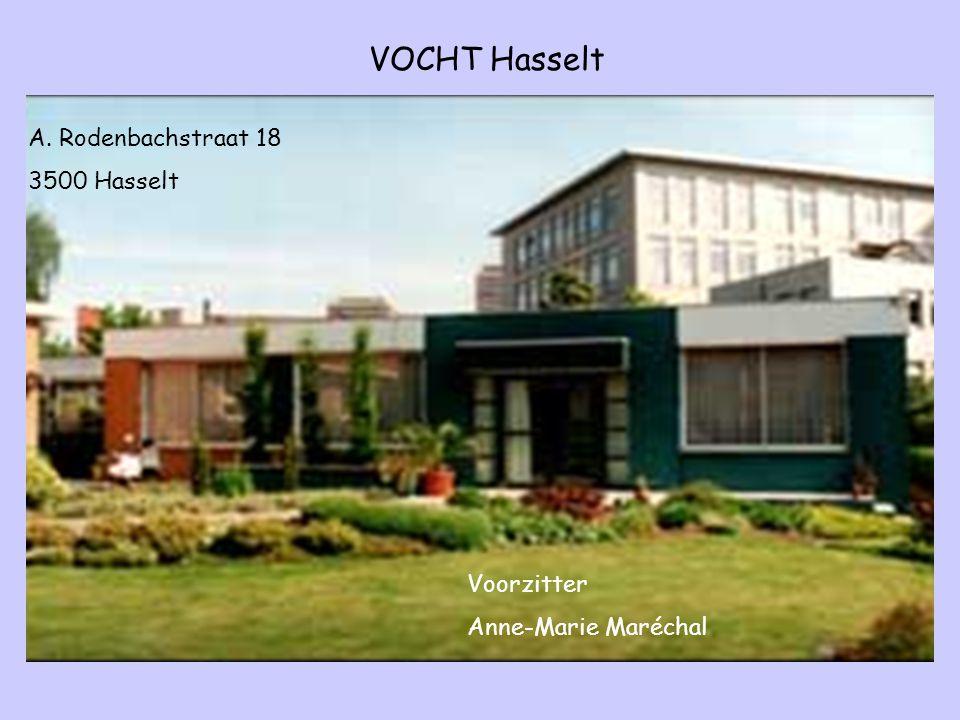 VOCHT Hasselt A. Rodenbachstraat 18 3500 Hasselt Voorzitter