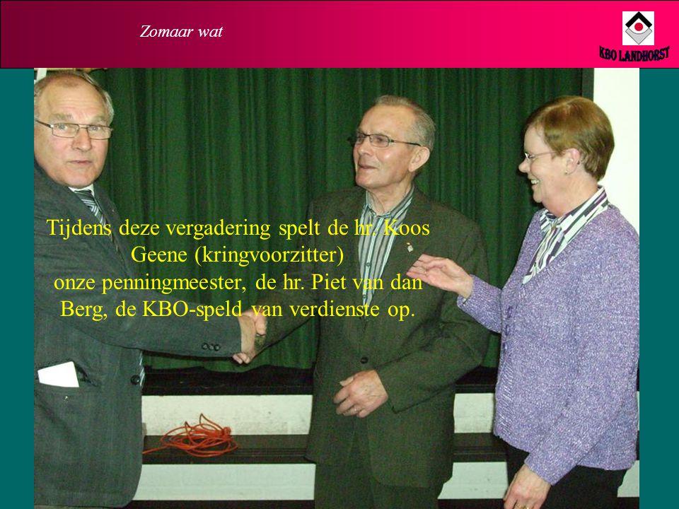 Zomaar wat KBO Landhorst.
