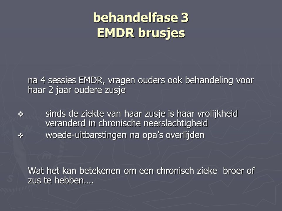 behandelfase 3 EMDR brusjes