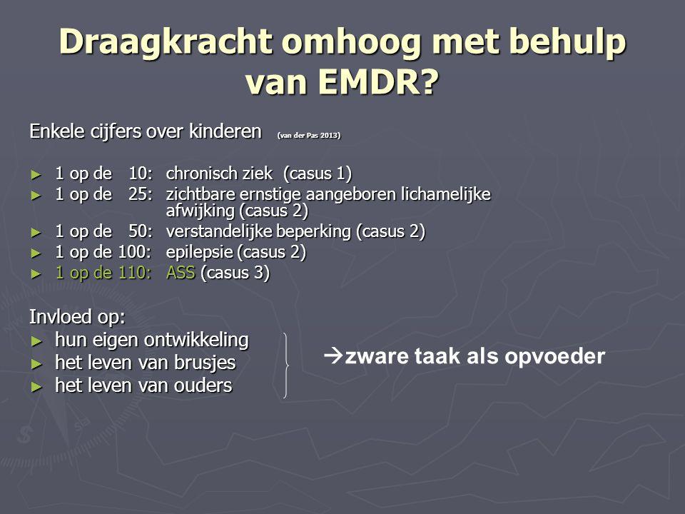 Draagkracht omhoog met behulp van EMDR
