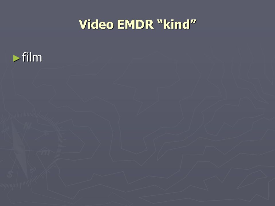 Video EMDR kind film
