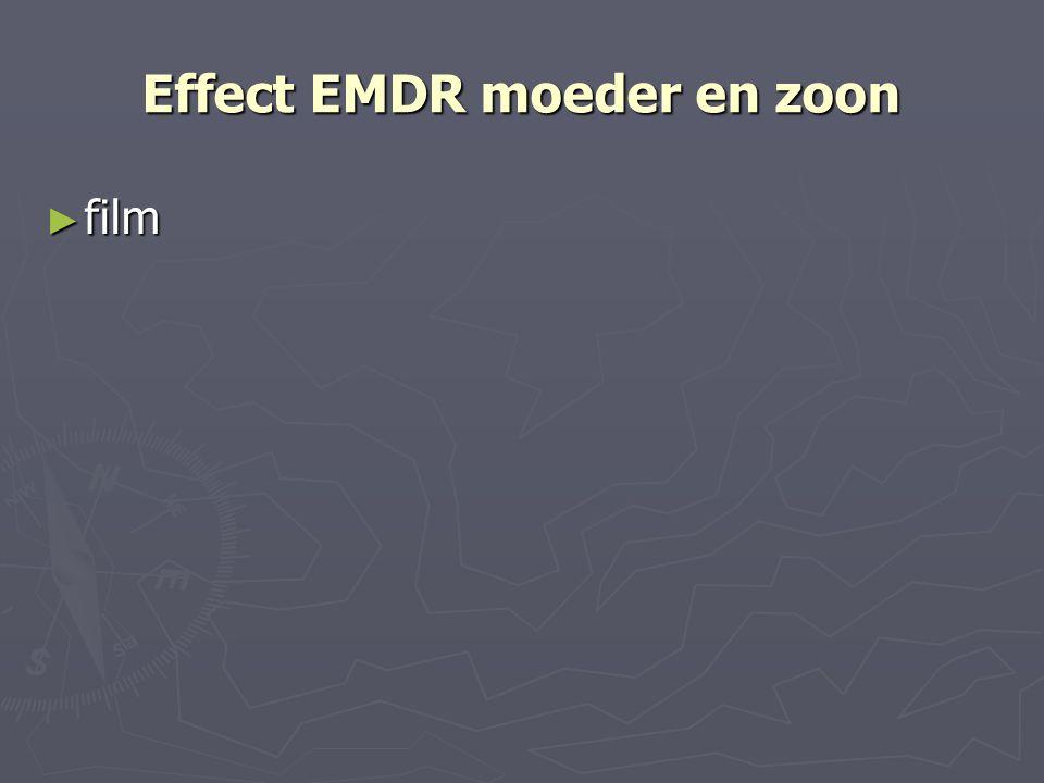 Effect EMDR moeder en zoon