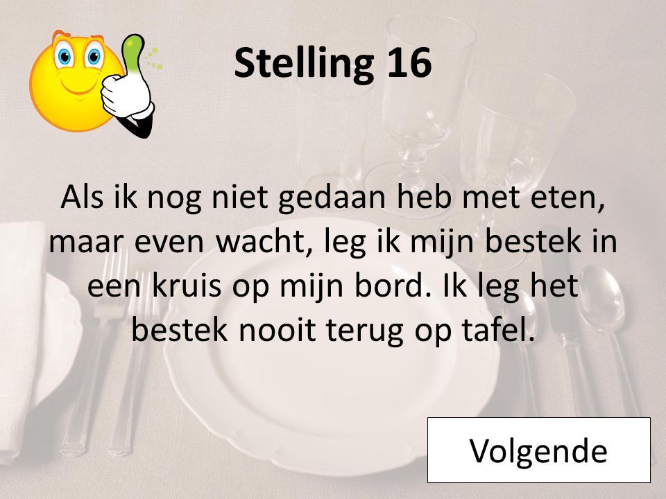 Stelling 16