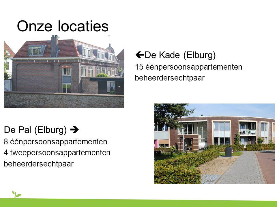 Onze locaties De Kade (Elburg) De Pal (Elburg) 