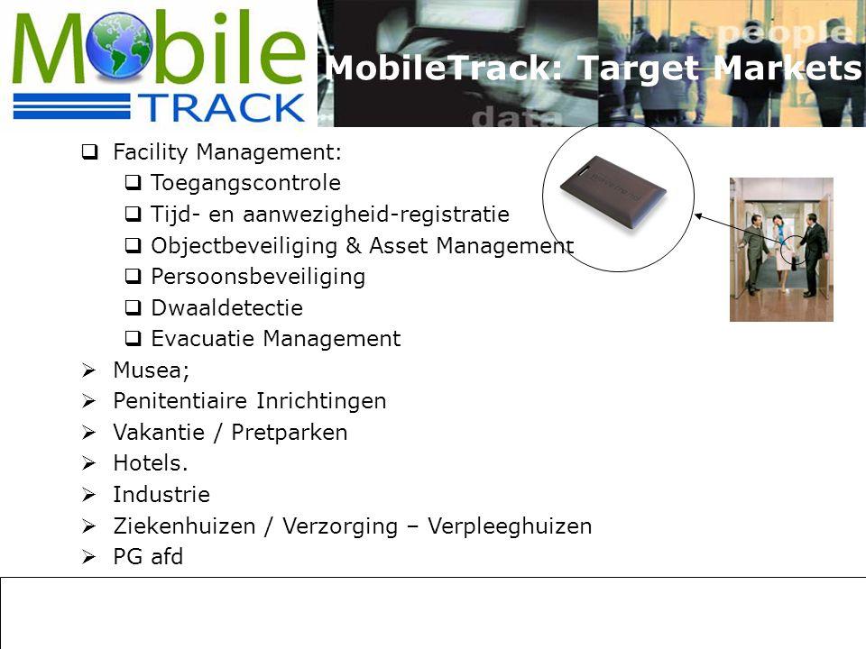 MobileTrack: Target Markets