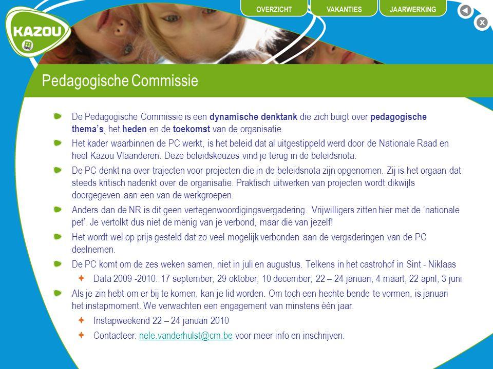 Pedagogische Commissie