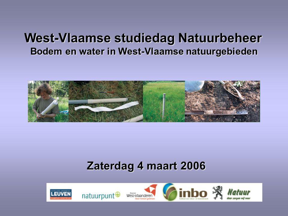 West-Vlaamse studiedag Natuurbeheer