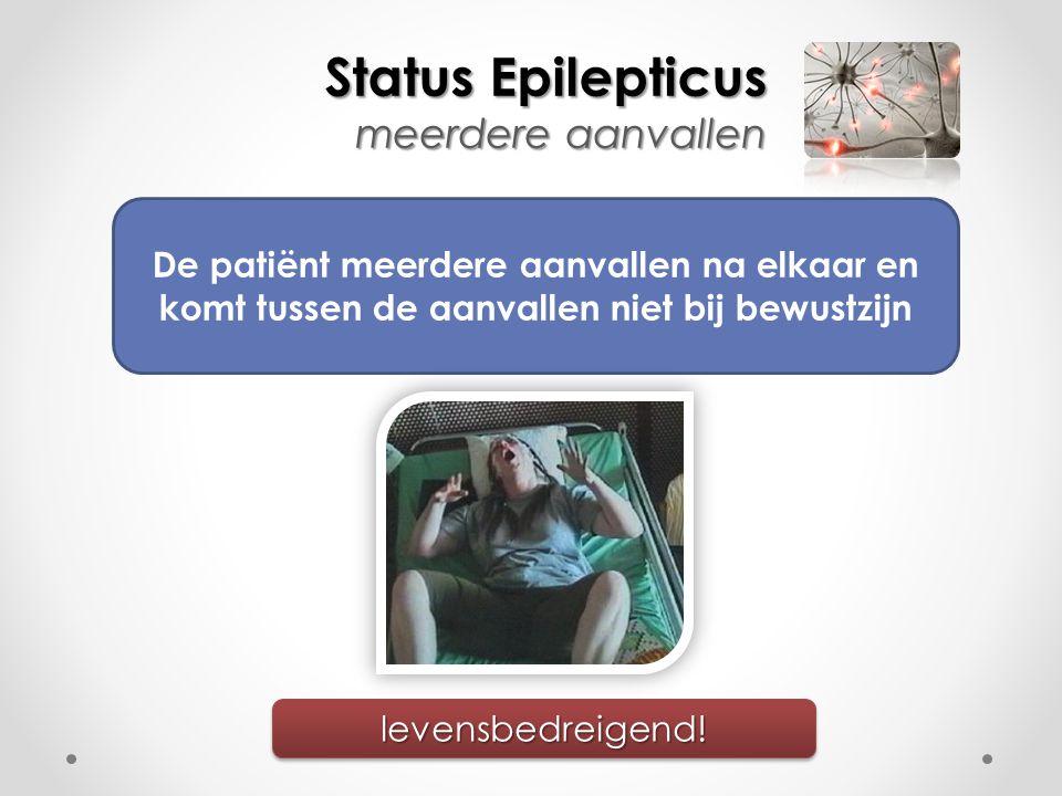 Status Epilepticus meerdere aanvallen