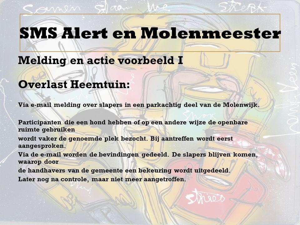 SMS Alert en Molenmeester