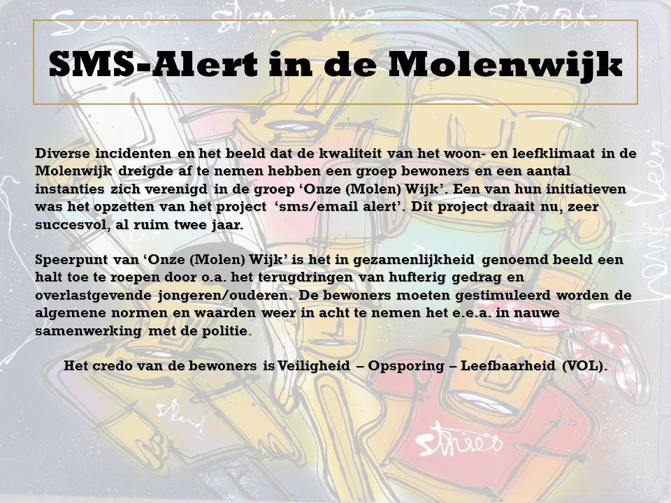 SMS-Alert in de Molenwijk