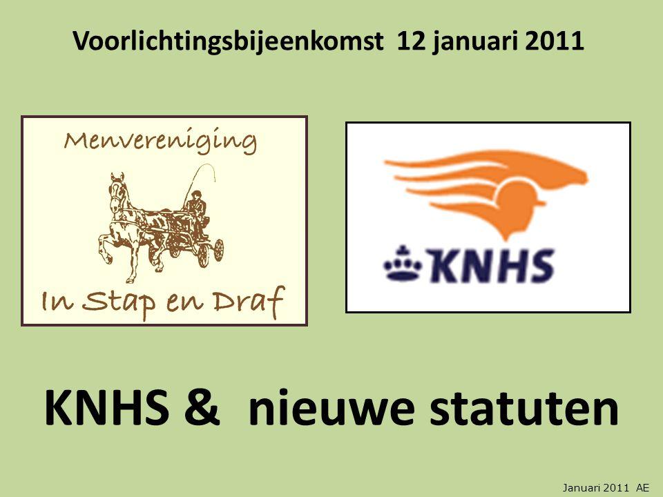 Voorlichtingsbijeenkomst 12 januari 2011