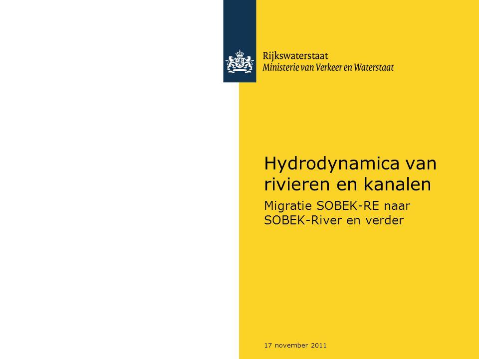 Hydrodynamica van rivieren en kanalen