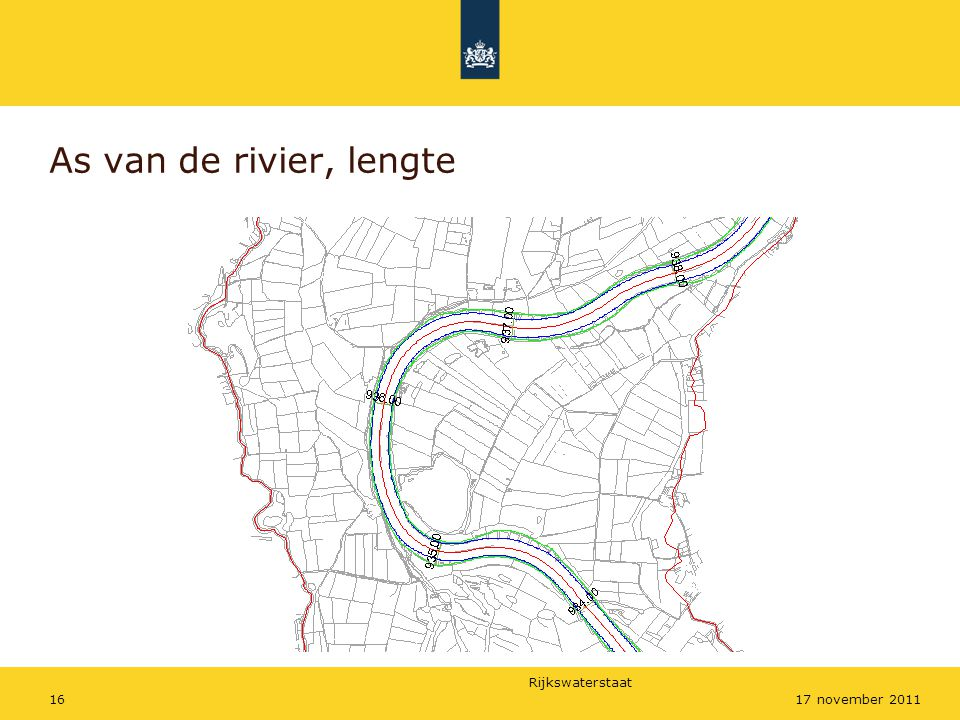 As van de rivier, lengte 17 november 2011