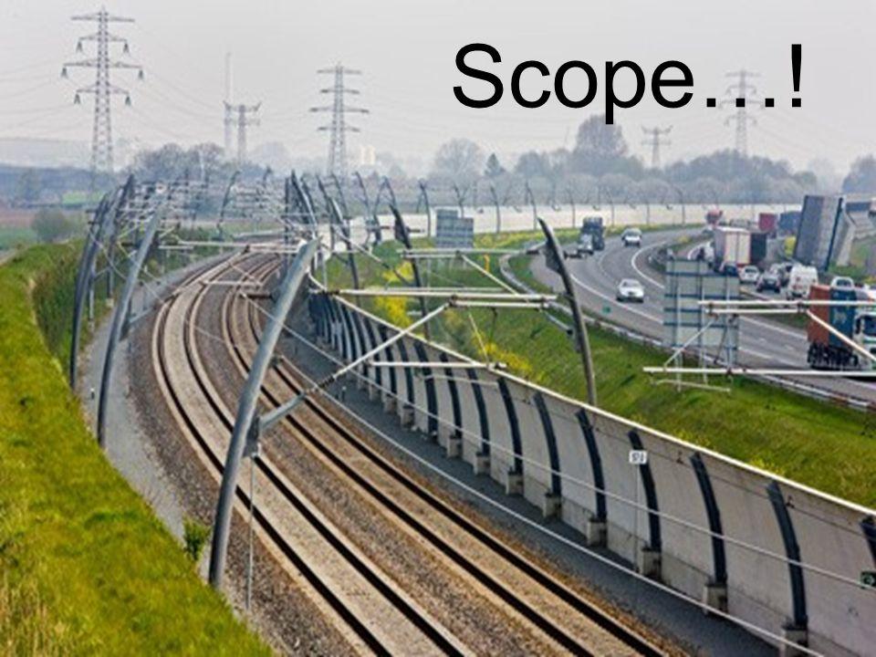 Scope…! Dit gaat over de verantwoordelijkheden. Wie bepaalt wat.