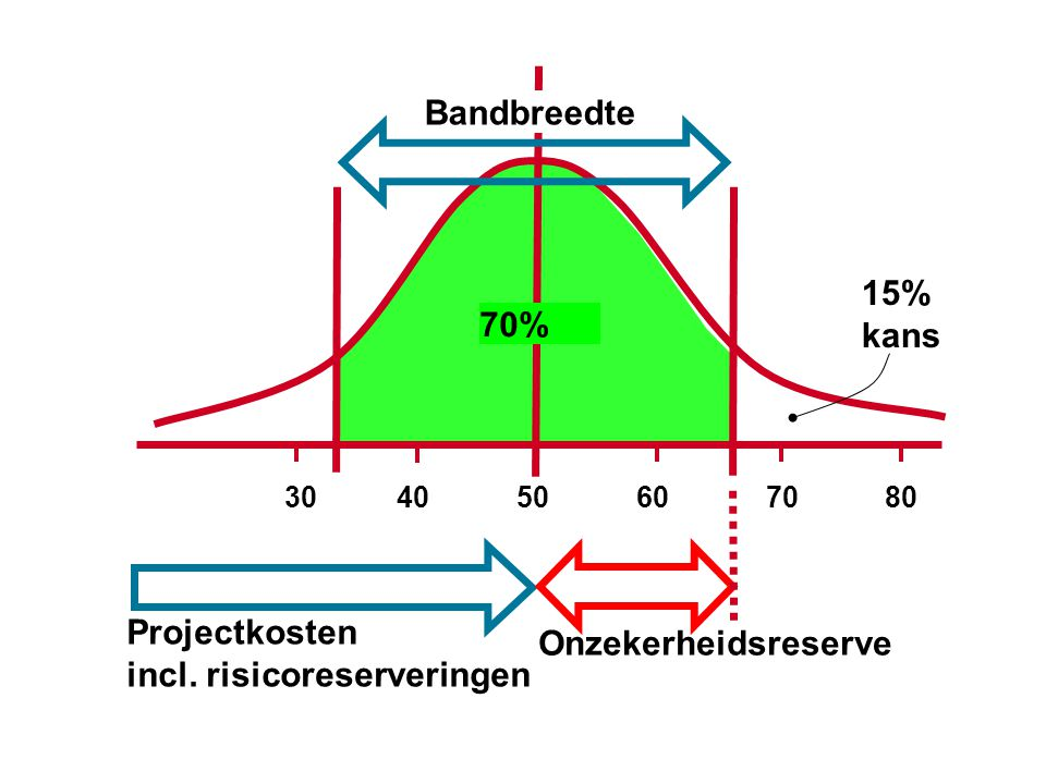 Projectkosten incl. risicoreserveringen