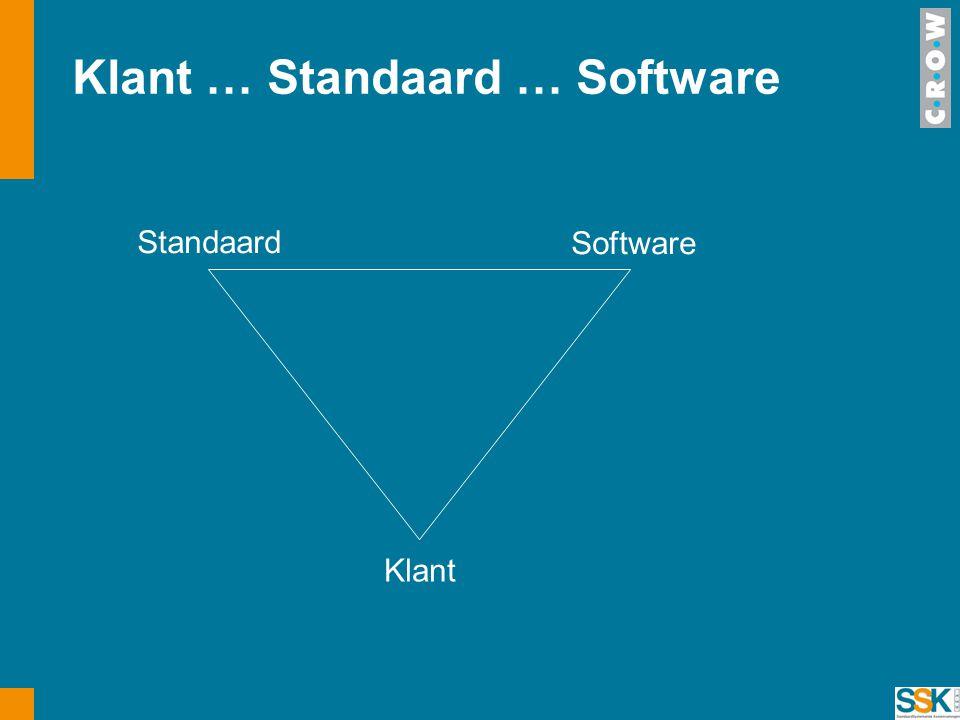 Klant … Standaard … Software