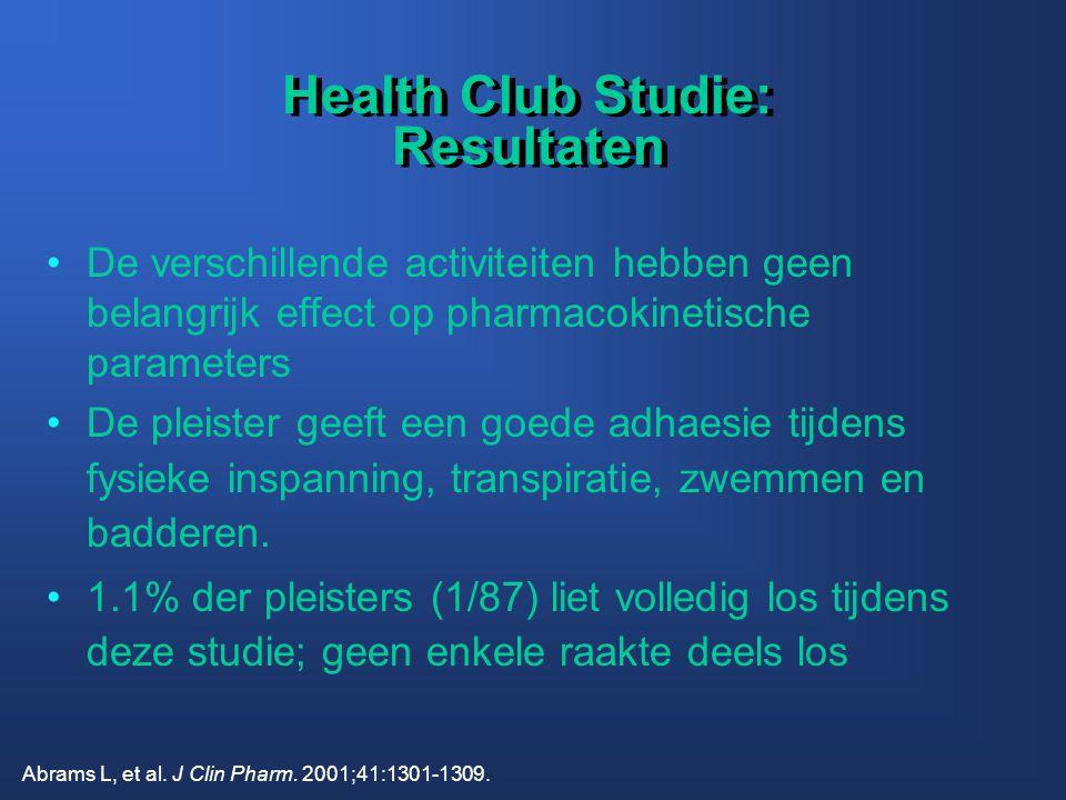 Health Club Studie: Resultaten