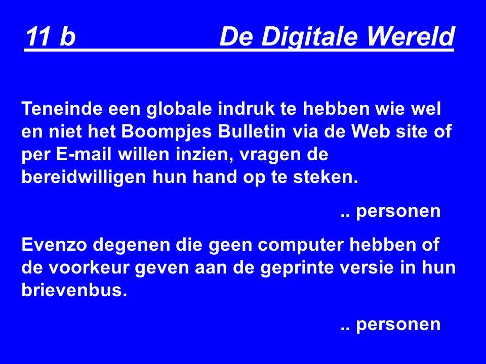 11 b De Digitale Wereld