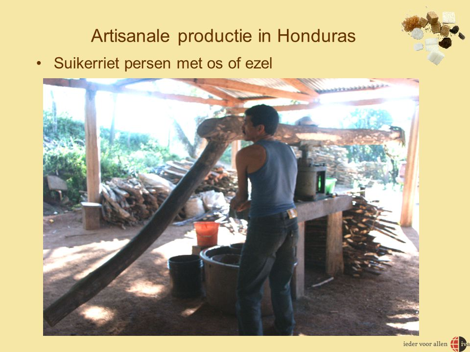 Artisanale productie in Honduras