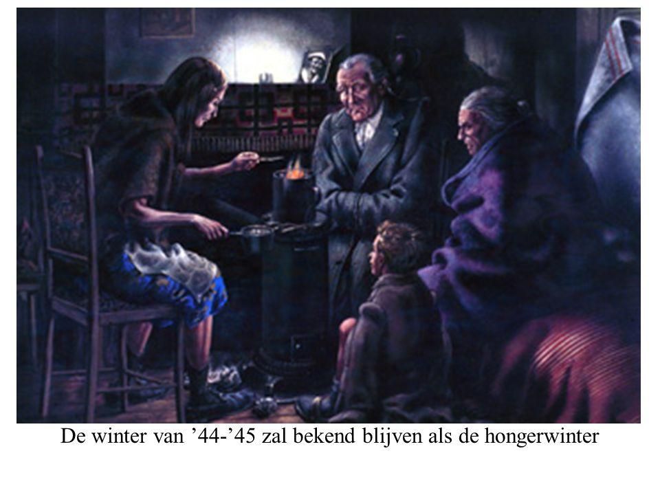 De winter van '44-'45 zal bekend blijven als de hongerwinter